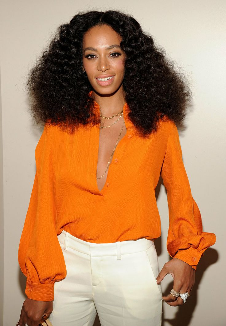 Solange Knowles at the Chime for Change event