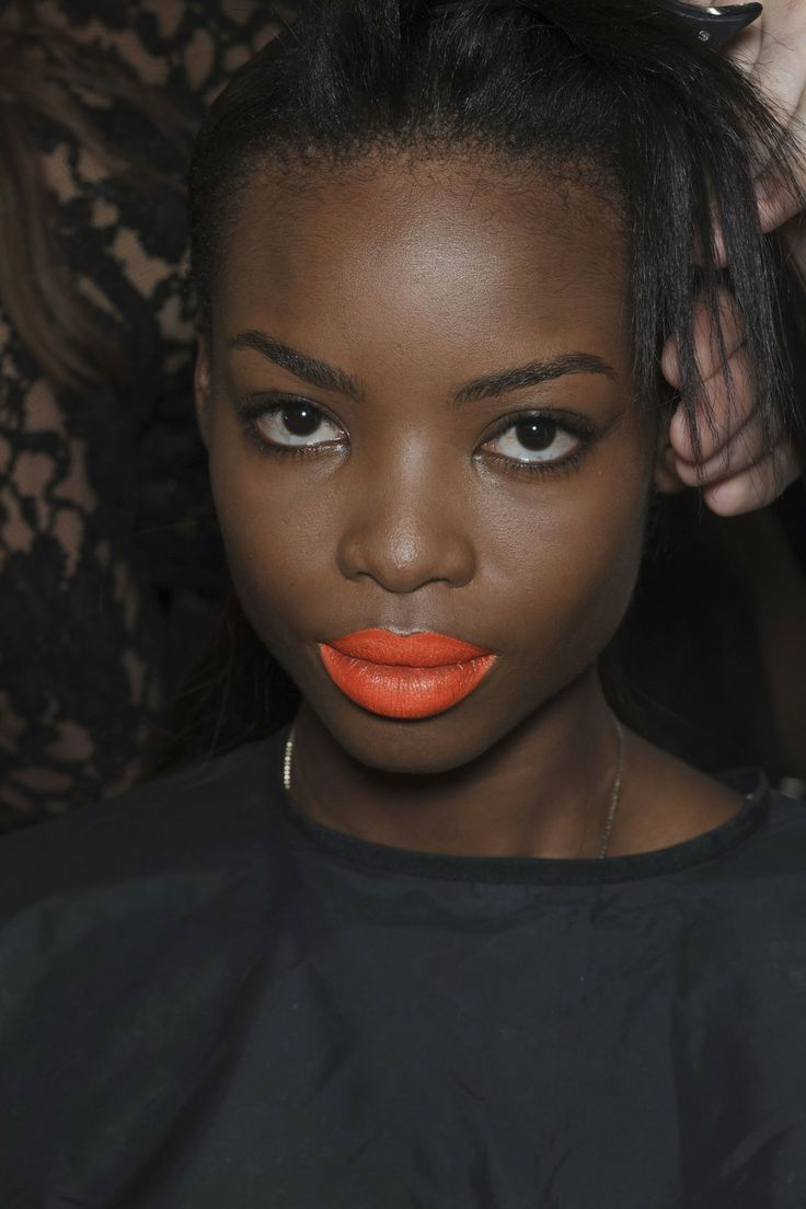 Backstage at Prabal Gurung, SS 2014