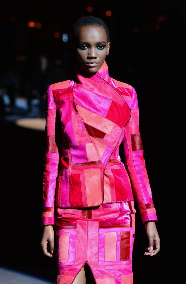 Herieth Paul rocking the runway in Tom Ford