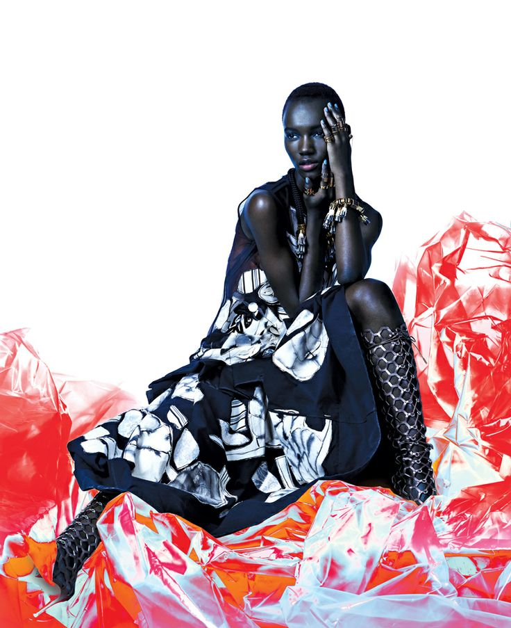 Herieth Paul FASHION magazine April 2014 issue: