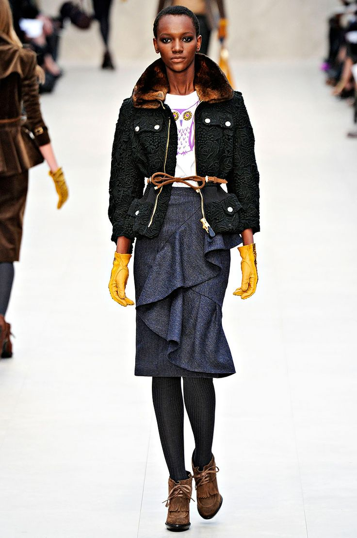 Burberry Prorsum Fall 2012 Herieth Paul
