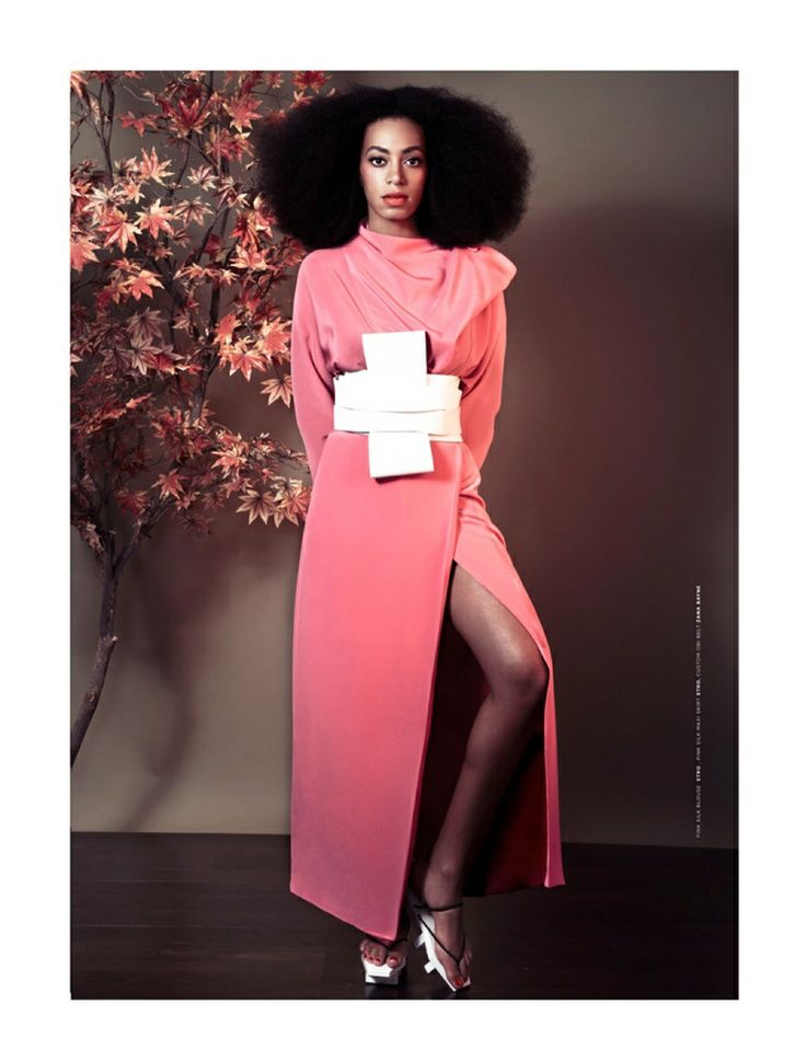 The Ground Magazine Issue#4 Spring 2014 | Solange Knowles photographed by Seiji Fujimori