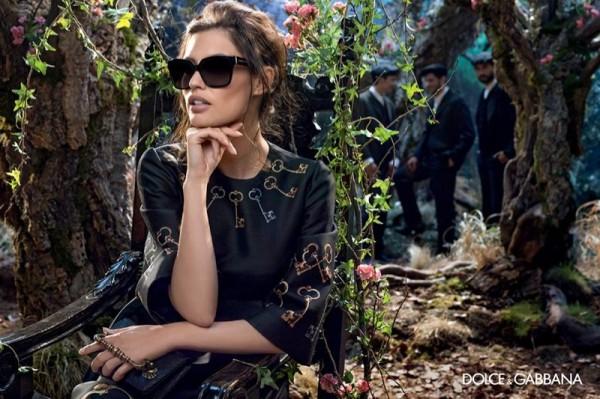 Bianca-Balti-For-Dolce-Gabbanas-Fall-2014-Eyewear-Campaign
