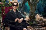 Bianca Balti  in Dolce & Gabbana's Fall/Winter 2014 Eyewear Campaign