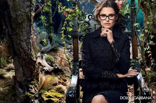Bianca-Balti-For-Dolce-Gabbanas-Fall-2014-Eyewear-Campaign-