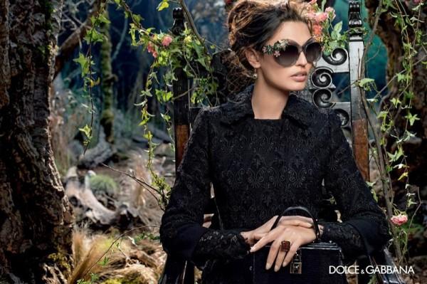 a29fc473ad Bianca Balti in Dolce   Gabbana s Fall Winter 2014 Eyewear Campaign ...