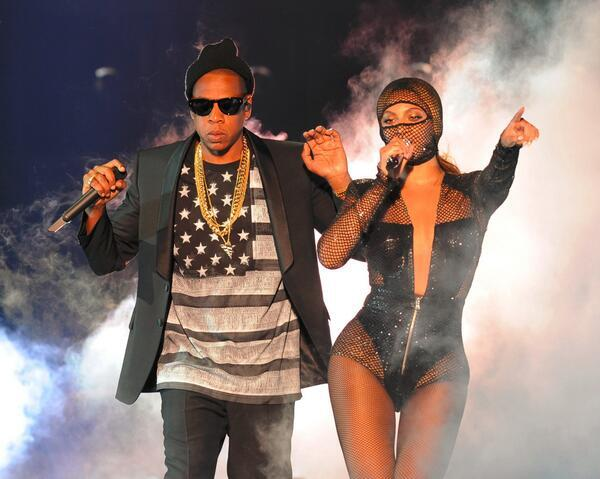 Beyonce and Husband Jayz - The On the run Tour