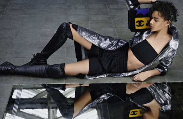 Cara-Delevingne-Binx-Walton-For-Chanel's-Fall-2014-Campaign-By-Karl-Lagerfeld