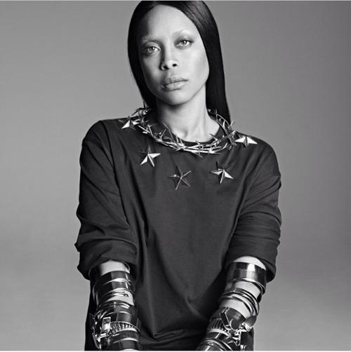 Erykah Badu Models 2014 Givenchy Collection Fashionsizzle