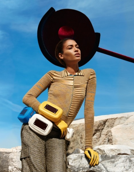 Joan Smalls Star In Missonis Fall Winter 2014 campaign4 468x600 Joan Smalls Stars In Missoni's Fall/Winter 2014  Ad campaign
