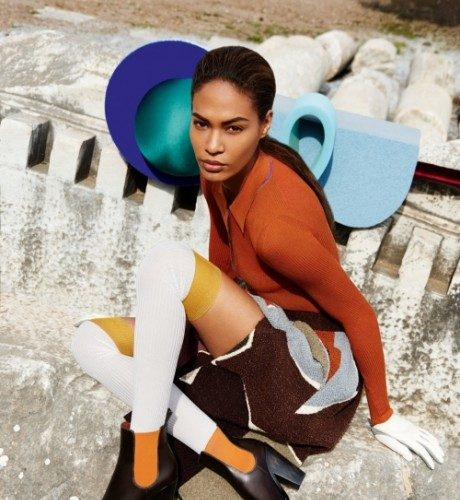 Joan-Smalls-Star-In-Missonis-Fall-Winter-2014-campaign9-460×600