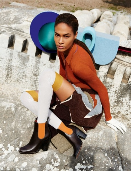 Joan Smalls Star In Missonis Fall Winter 2014 campaign9 460x600 Joan Smalls Stars In Missoni's Fall/Winter 2014  Ad campaign