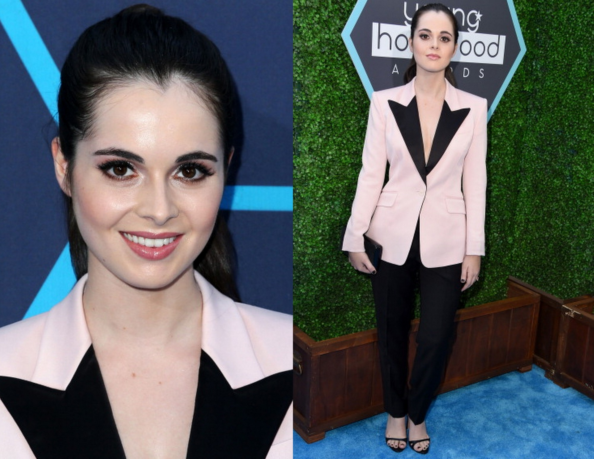 Vanessa Marano Skaist Taylor Anthony Franco 2014 Young Hollywood Awards e1406560715674  Vanessa Marano Wearing Skaist Taylor & Anthony Franco at  Young Hollywood Awards 2014