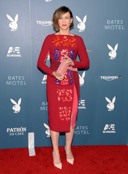 Vera 1     Vera Farmiga in Peter Pilotto at Comic Con 2014