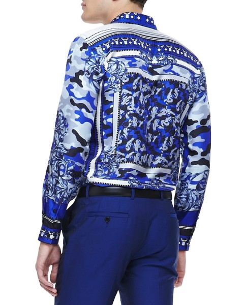 Versace-collection-blue-scarf-camo-print-shirt-2-480x600