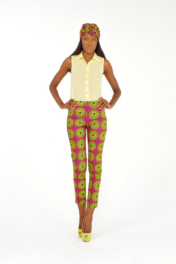 African Print Pants by Bongolicious1