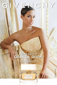 Alicia Keys' Givenchy 'Dahlia Divin' Fragrance Ad Debut