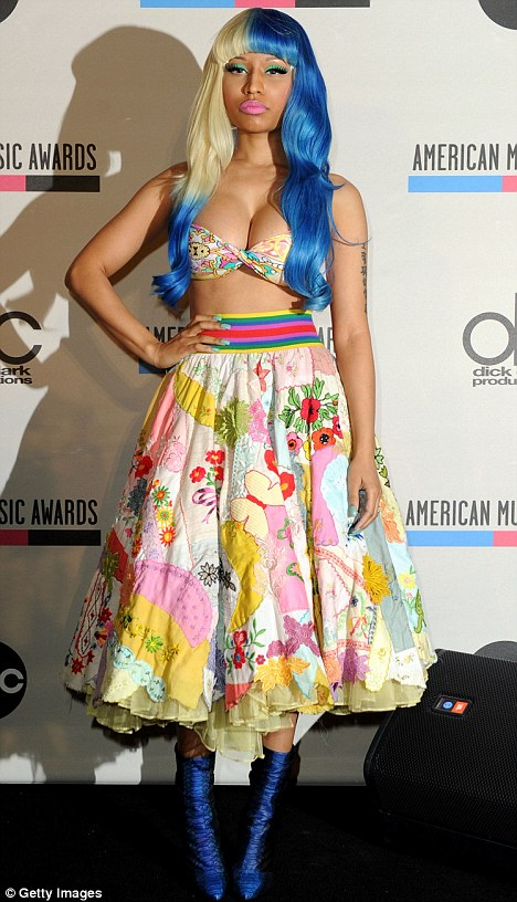 article 0 0E55286D00000578 239 468x816  Celebrities rocking Blue hair
