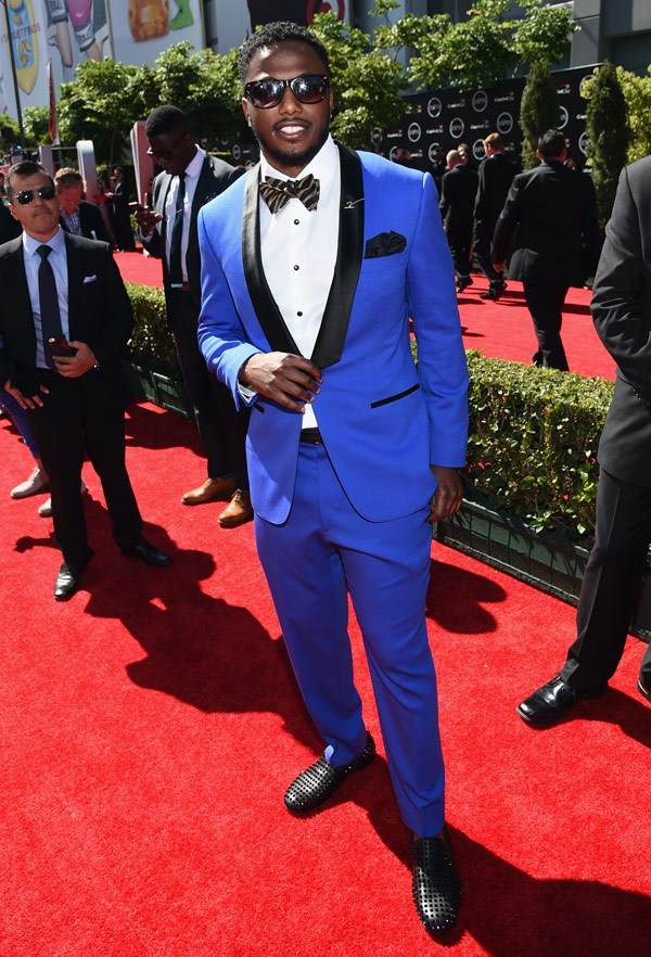 NFL player Brandon Flowers attends The 2014 ESPYS at Nokia Theatre L.A. Live on July 16, 2014 in Los Angeles, California. (Photo by Michael Buckner/Entertainment/Getty Images For ESPYS)