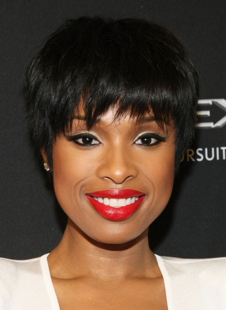 Jennifer Hudson rocking a pixie haircut