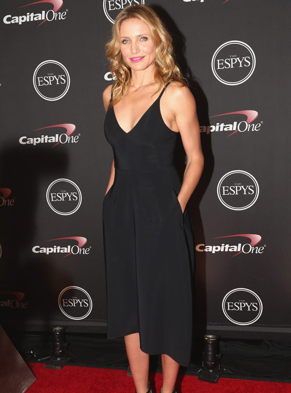 Cameron Diaz attends The 2014 ESPYS at Nokia Theatre L.A. Live on July 16, 2014 in Los Angeles, California. (Photo by Christopher Polk/Entertainment/Getty Images For ESPYS)