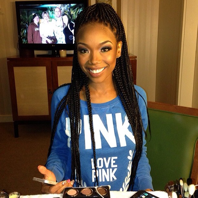 celeb box braids Rolling Out Joi Pearson 11 Celebrities rocking  braids