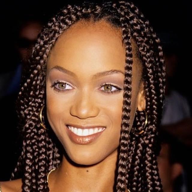 Tyra Banks Janet Jackson Tweet: Celebrities Rocking Braids