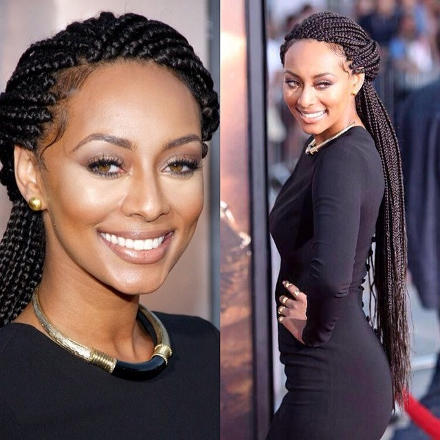celeb box braids Rolling Out Joi Pearson 7 Celebrities rocking  braids