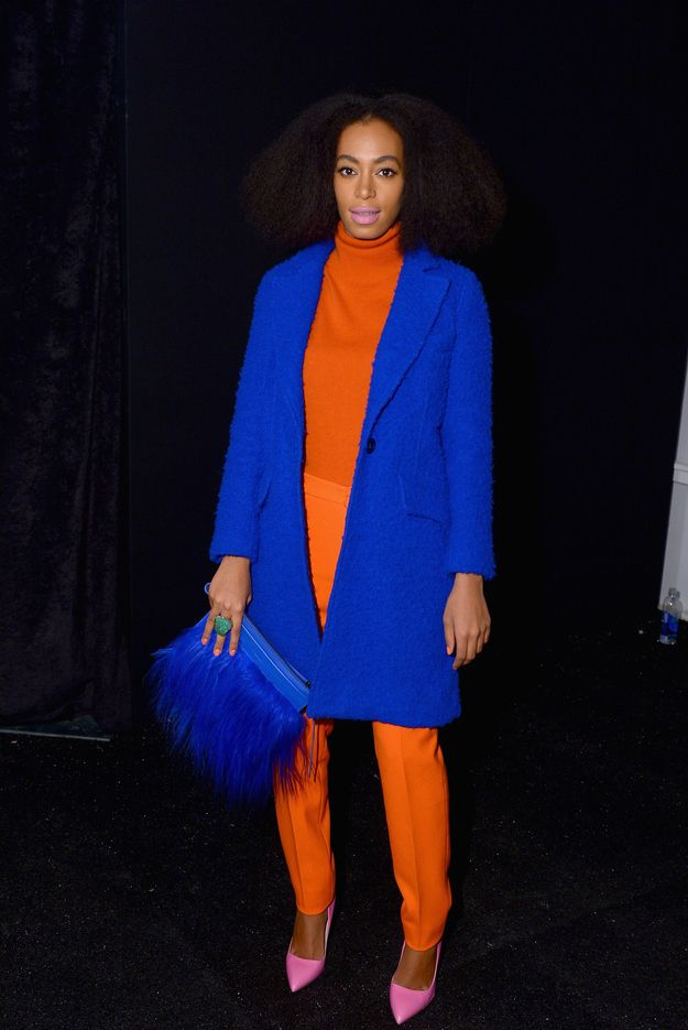 Solange Knowles At The Milly By Michelle Smith Fall 2014 Show In New York City