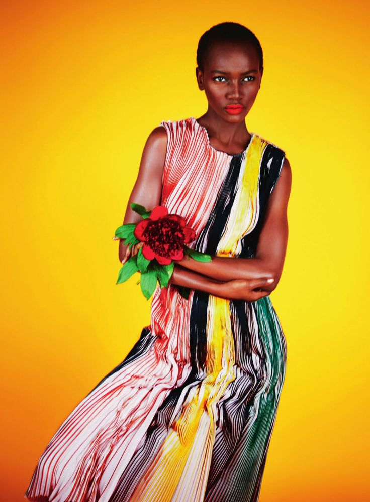 """The Collection"" Jiyoung Kwak, Herieth Paul, Helena Greyhorse by Erik Madigan Heck for Harper's Bazaar UK August 2014"