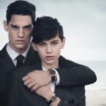 Emporio Armani Fall/Winter 2014 Watches & Jewelry Campaign