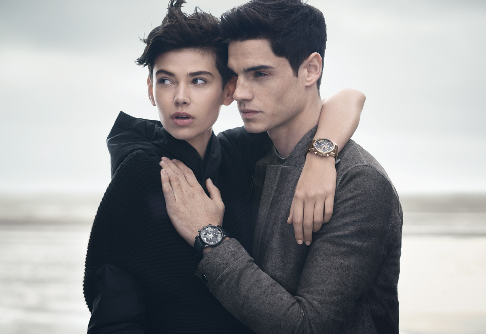 Emporio -Armani -Fall/Winter- 2014 -Watches -& -Jewelry- Campaign