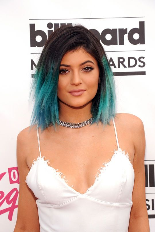 Kylie Jenner's blue hair at the Billboard Music Awards
