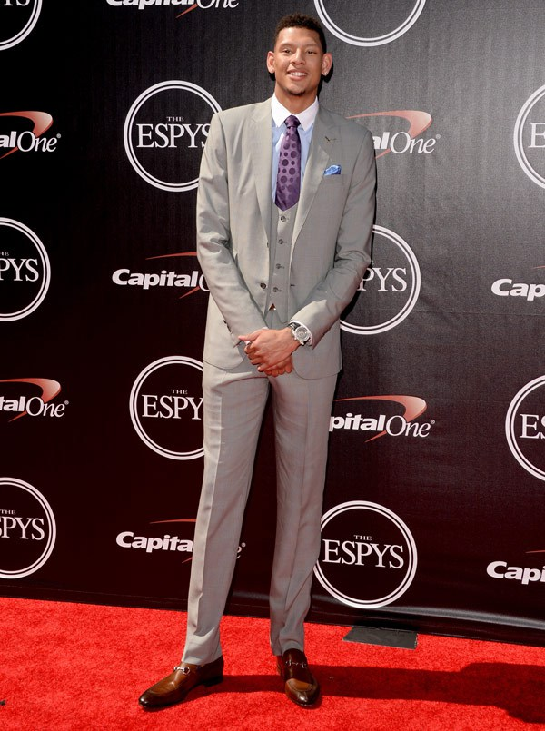 College basketball player Isaiah Austin attends The 2014 ESPYS at Nokia Theatre L.A. Live on July 16, 2014 in Los Angeles, California. (Photo by Jason Merritt/Entertainment/Getty Images)