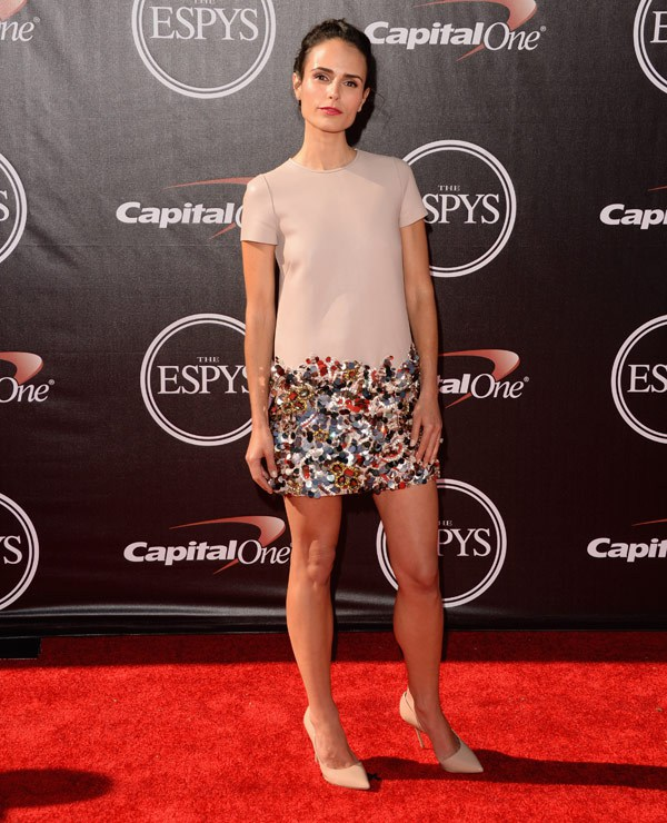 Actress Jordana Brewster attends The 2014 ESPYS at Nokia Theatre L.A. Live on July 16, 2014 in Los Angeles, California. (Photo by Jason Merritt/Entertainment/Getty Images)