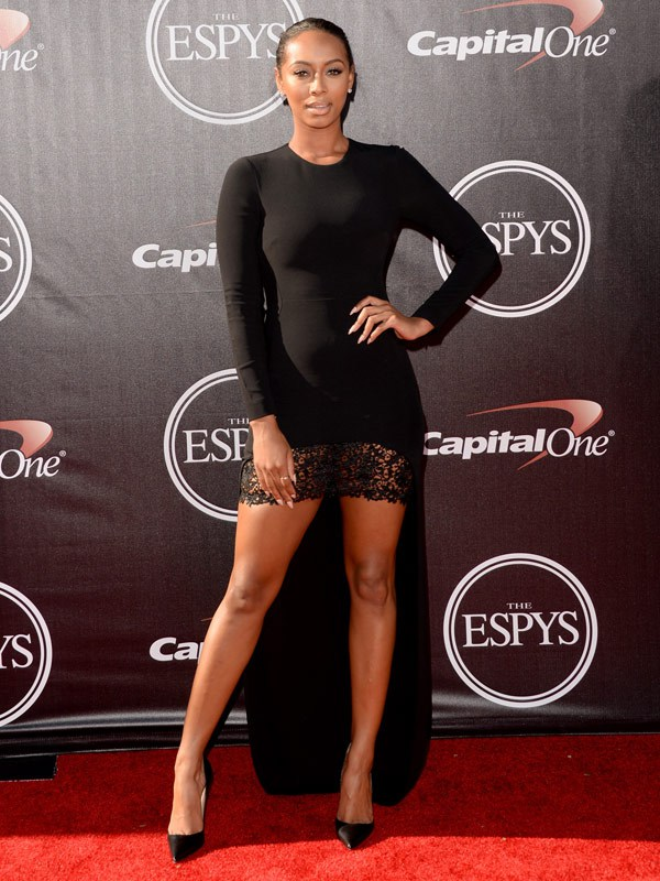 Singer Keri Hilson attends The 2014 ESPYS at Nokia Theatre L.A. Live on July 16, 2014 in Los Angeles, California. (Photo by Jason Merritt/Entertainment/Getty Images