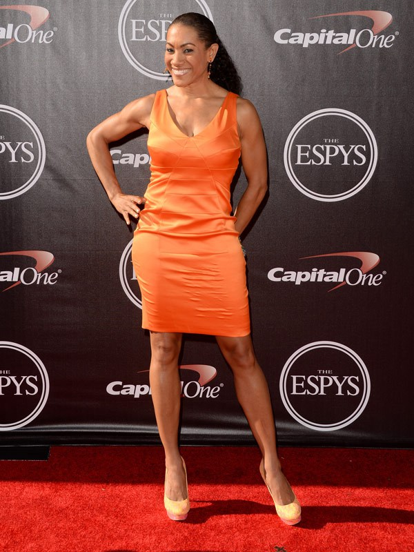 Monica Cabbler attends The 2014 ESPYS at Nokia Theatre L.A. Live on July 16, 2014 in Los Angeles, California. (Photo by Jason Merritt/Entertainment/Getty Images)