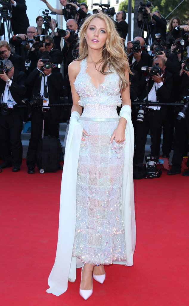 Blake Lively Chanel in Couture