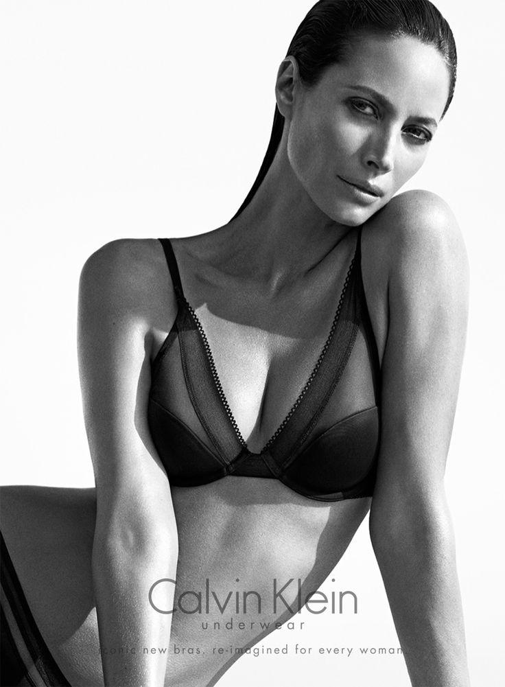 Christy Turlington Star in Calvin Klein Underwear Fall 2013 Ads