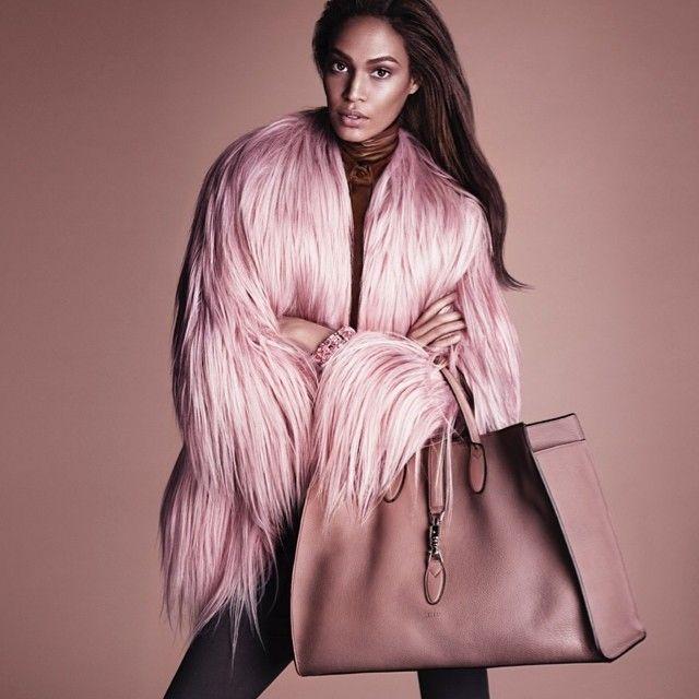 Joan Smalls in Gucci Fall 2014 Ad Campaign
