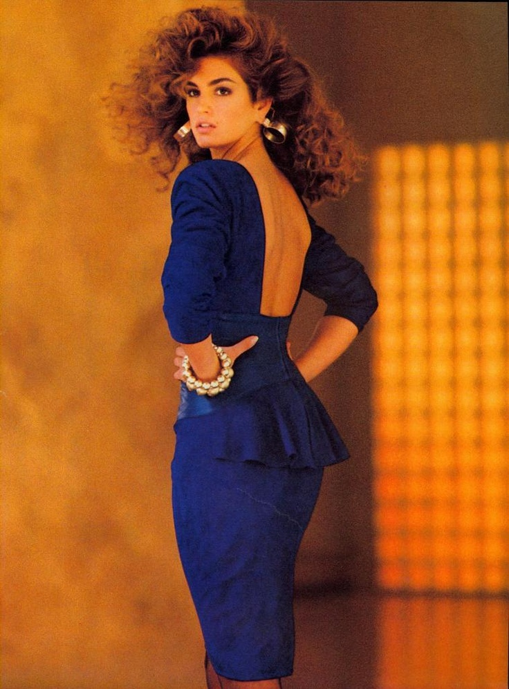 Cindy Crawford for Vakko, 1987