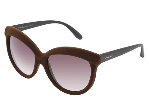 Brown and Grey Italia Independent Sunglasses