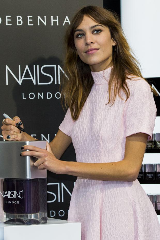 Alexa Chung Launches Alexa Manicure At Debenhams