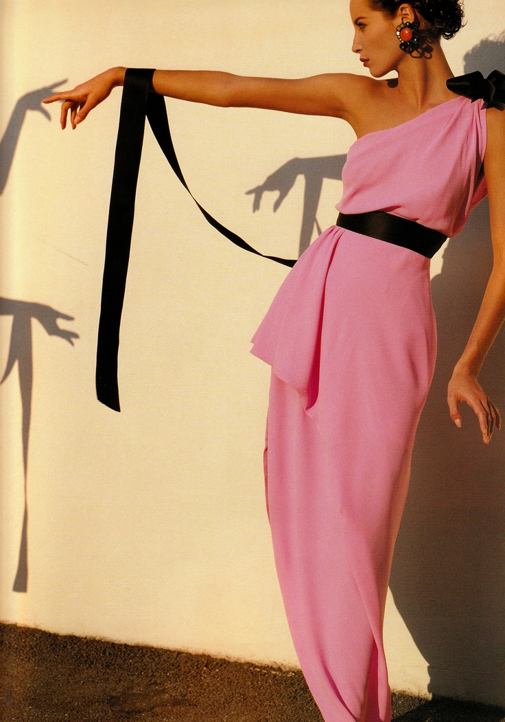 Christy Turlington in Chanel, 1991