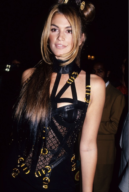 Cindy Crawford '90s Versace
