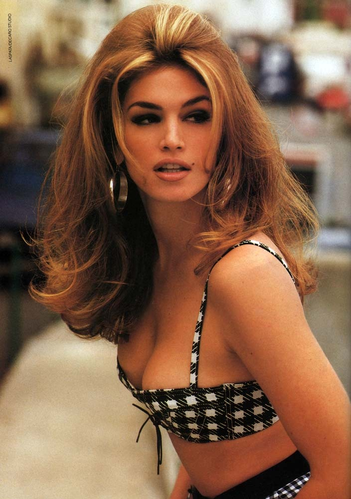 cindy crawford  supermodel   fashionsizzle