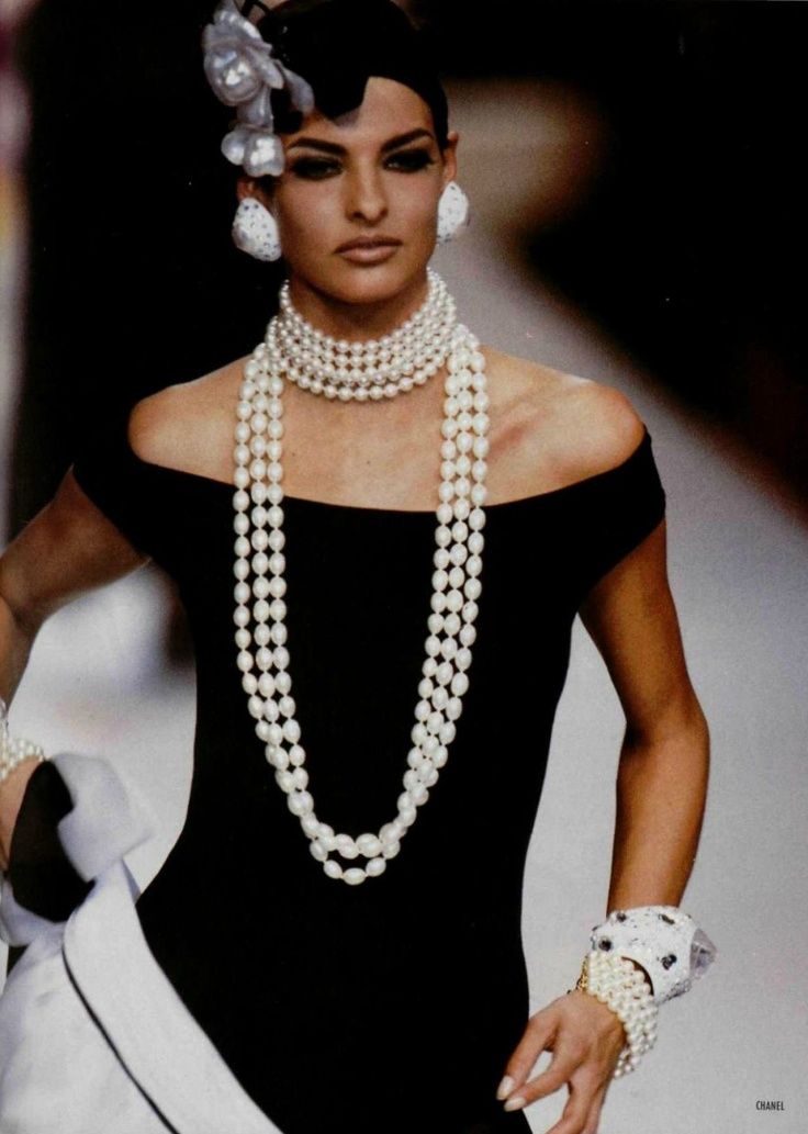 Linda Evangelista for Chanel