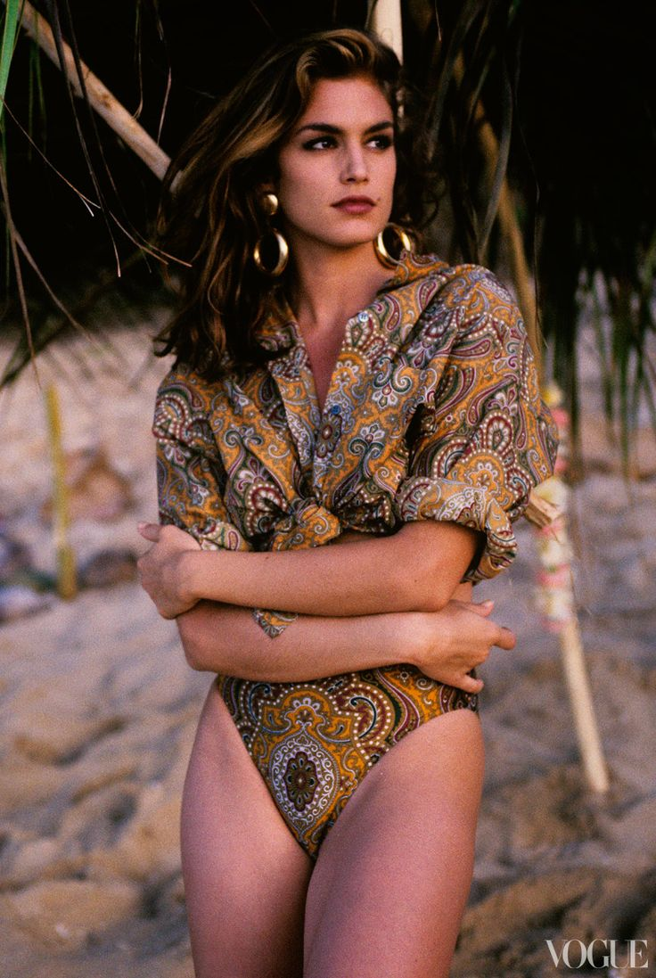 Cindy Crawford for Vogue in 1991