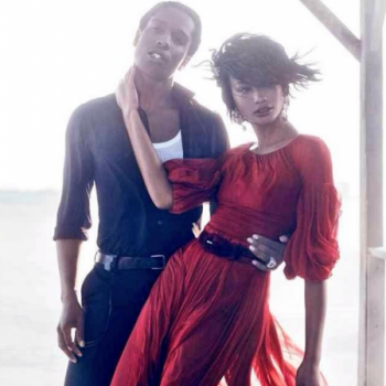 AAP-Rocky-Girlfriend-Chanel-Iman-For-Vogue-U.S.-September-2014-Issue1-449×600