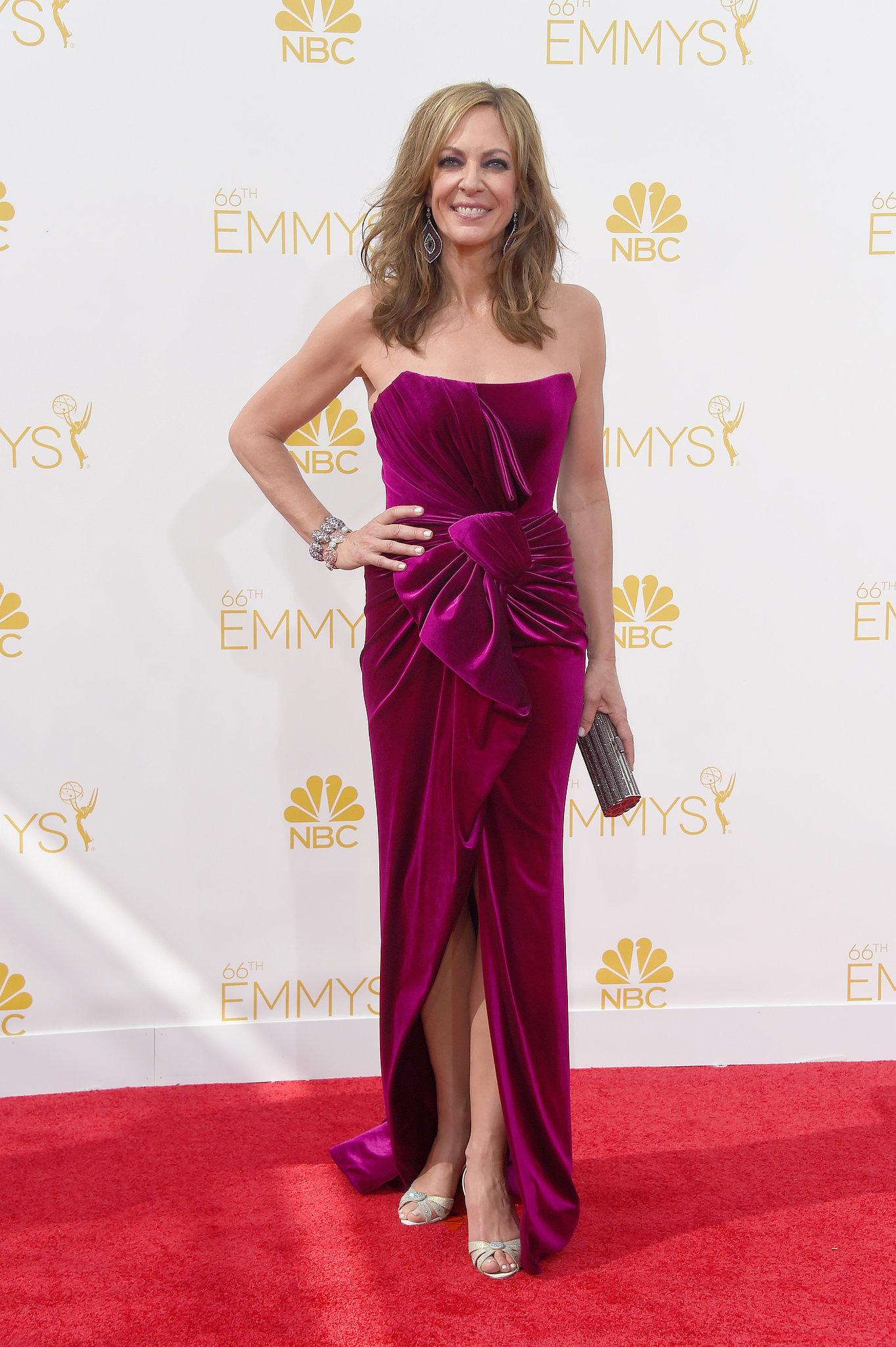 Allison Janney at the 2014 Emmy Awards